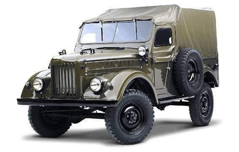 ГАЗ-69, ГАЗ-69А - легковые автомобили, выпускались на Горьковском автомобильном заводе с 1953 по 1956 гг